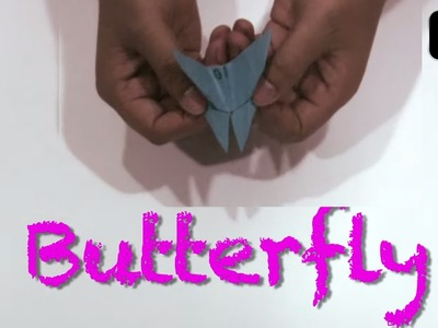 How To Make Paper Butterfly - Fun Origami Craft Ideas For Kids