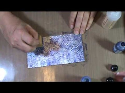 How to Use Alcohol Ink on Tin Foil