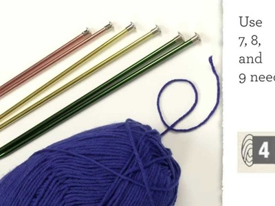 Knitting Basics: Matching Weights With Needles