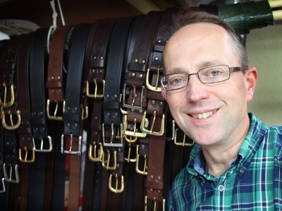 Leather Craft - Making High Quality Handmade Belts by Bucklehurst Leather