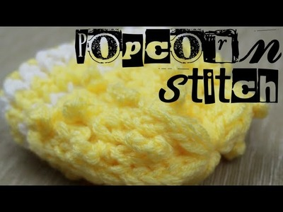 Loom Knitting: Popcorn Stitch
