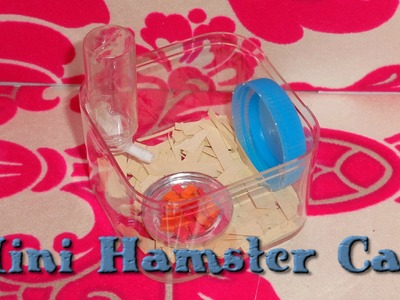 LPS Crafts - How to Make a LPS Hamster Cage + Hamster Vlog