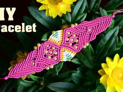 Macrame Sand Clock & Butterfly Bracelet Tutorial
