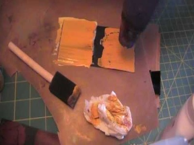Make your own crackle paint