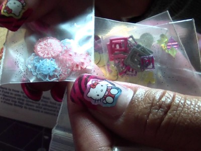 My Nail Art.Craft Supplies Swap with Indra Nieves