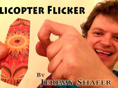 Origami Helicopter Flicker