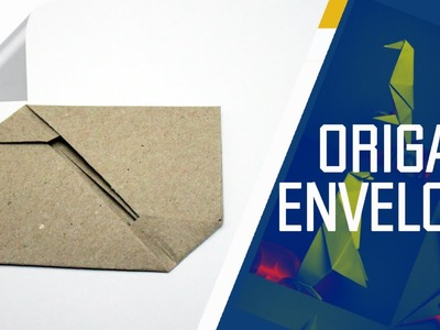 Origami - How To Make An Origami Envelope