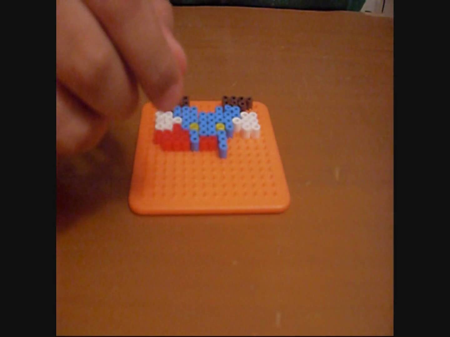 Perler beads:making mario sprites
