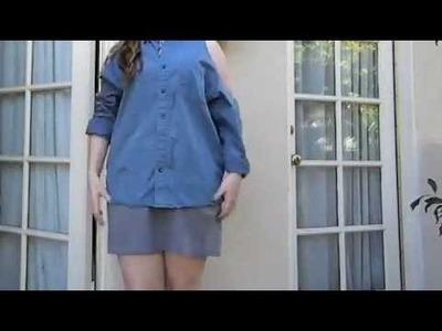 QUICK DIY: Pretty Little Liars, Spencer's Cutout Shirt