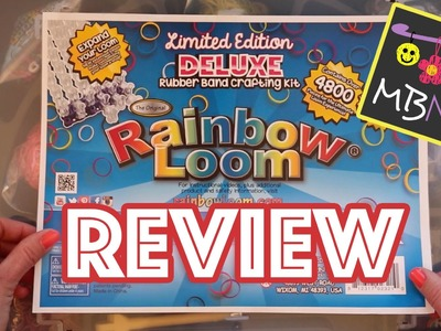 Rainbow Loom Limited Edition Deluxe Rubber Band Crafting Kit - Review