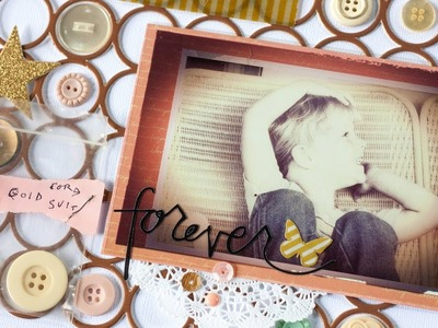 Scrapbooking Process | Double-Page Heritage Layout
