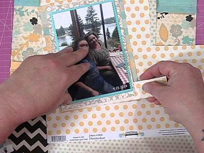 Scrapbooking Process Video:  Frends to the End
