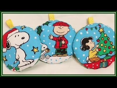 Sewn and Stuffed Christmas Ornaments {VERY EASY} - Whitney Sews