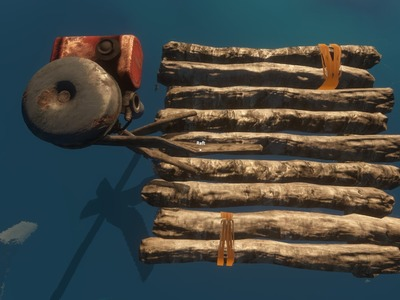 Stranded Deep: Crafting Boat Motor and Whales! New update hotfix gameplay tutorial, fixed raft!
