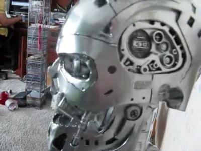 Terminator 2 Papercraft