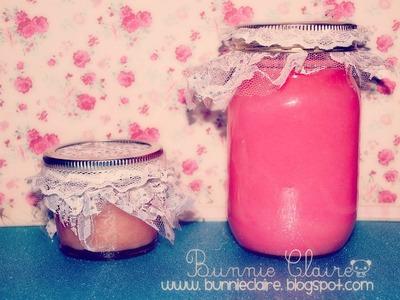 10 DIY gifts: Gift Idea 1: HOMEMADE SUGAR SCRUB. Amazing GIFT!!