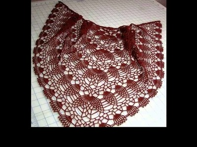 Crochet shawl patterns for beginners