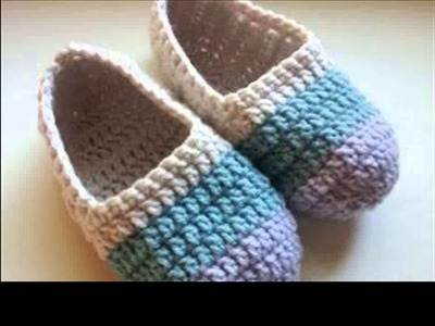 Crochet slippers beginners