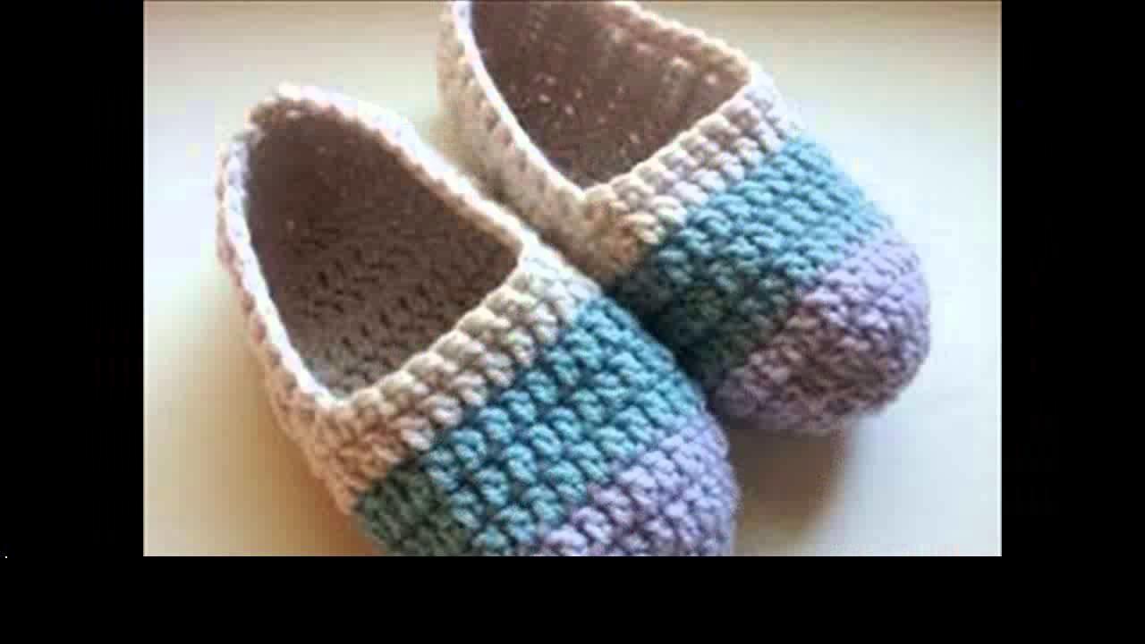Crochet slippers beginners
