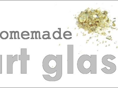 DIY Art Glass Tutorial