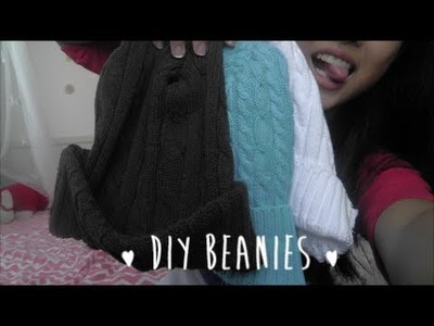 DIY Beanie (Cheap, Easy, No Sew)
