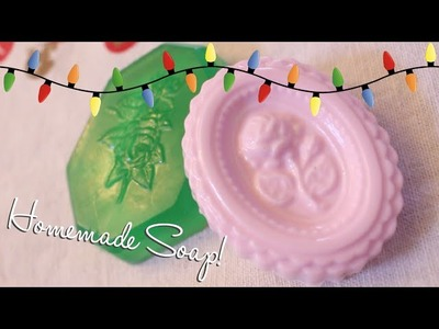 DIY Christmas Gift Idea: Homemade Soap ♡