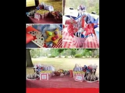DIY Circus birthday party decorating ideas