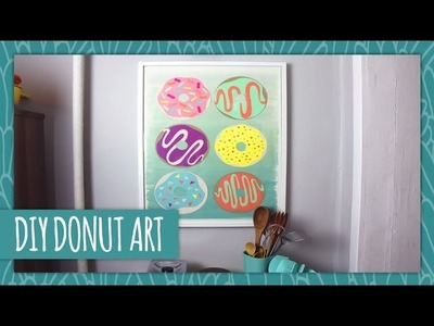 DIY Donut Wall Art - HGTV Handmade