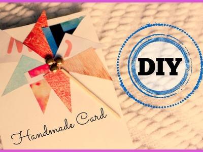 DIY: Easy Handmade Card (Birthdays, Parties, Graduation, etc)