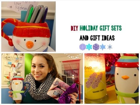 DIY Holiday Gift Sets and Gift Ideas for Her!