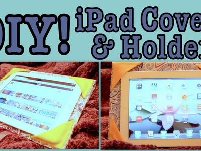 DIY: iPad Cover.Holder!