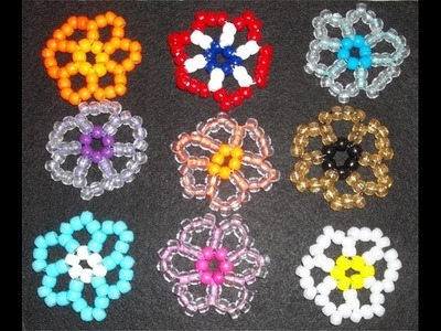 DIY: PONY BEAD FLOWER | digupstuff