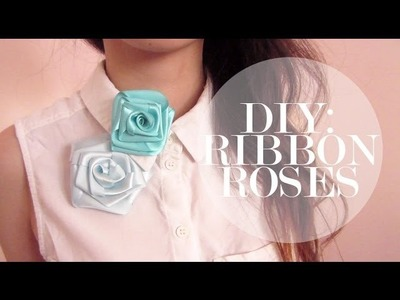 DIY: Ribbon Roses ✿ ❀