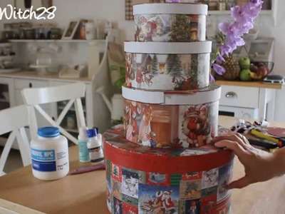 DIY: Wedding Cake Card Box - Torta Porta Buste FAI DA TE