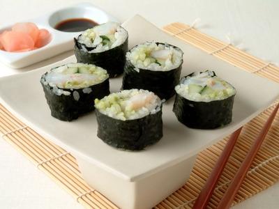 DIY Whole-Grain Sushi  | Cooking Light