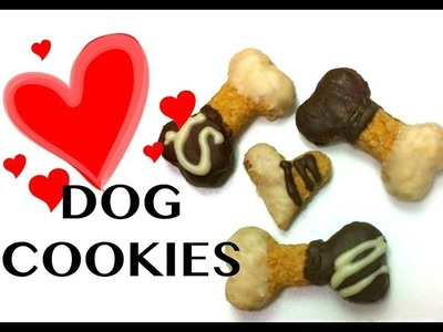 DOG CAROB PEANUTBUTTER COOKIES DIY Dog Food - a tutorial by Cooking For Dogs