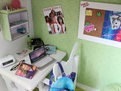 Doll Room Tour: 18 inch Doll Loft Bed | The Gabby Diaries : Walk Before You Trot