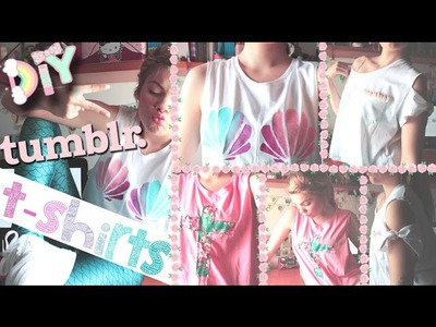 Easy & Inexpensive DIY Tumblr T-shirts WITHOUT Transfer Paper