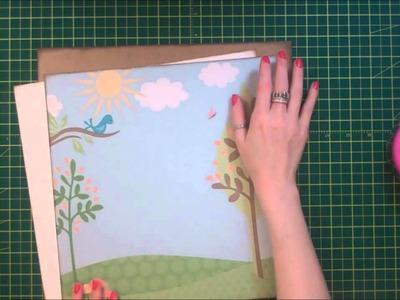 Faith Abigail Designs - It's a Girl Scrapbook Layout