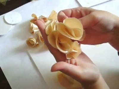 Flower Making Tutorial Series  - Day 2