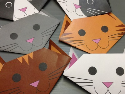 Free Origami Cat Paper - Print Your Own! - Cute Cats