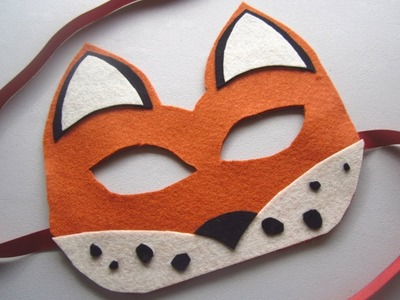{Halloween} DIY Fox Mask
