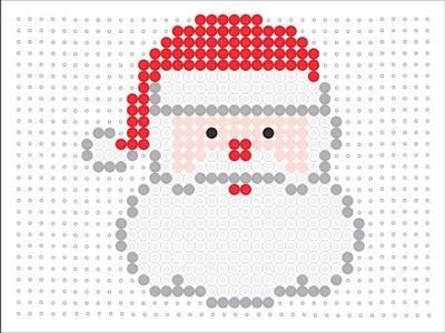 Hama Bead Santa (Christmas Series 2 #1)