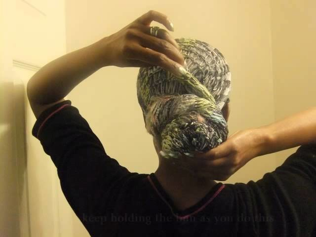 Headwrap Tutorial with Knitti Gritti Scarf