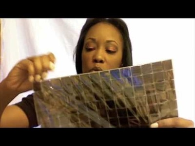 HGTV:Mirror Project, with Mosaic Tiles