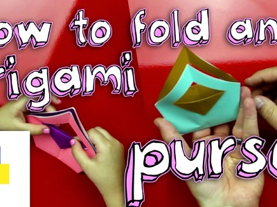 How To Fold An Origami Purse