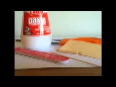 How to make a Doll Rolling Pin ~ Missy Craft Tutorial