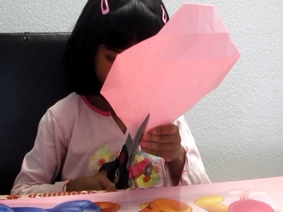 How to make a paper box(Kids Crafts from Kids)-Felicia