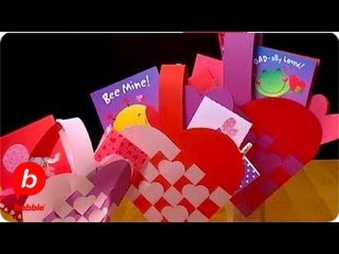How to Make a Valentine's Day Woven Heart Basket   Crafts   Babble