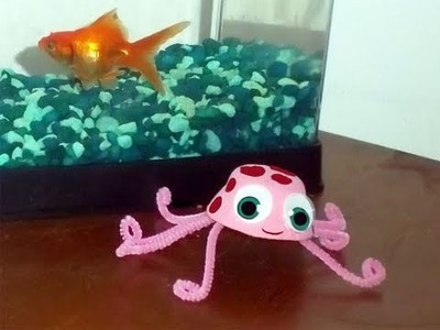 How to make an egg carton jelly fish - EP